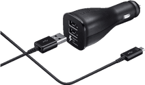Samsung USB-C Dual Car Charger 1.5M Black 2A