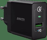 Anker PowerPort+1 Oplader zonder Kabel 18W Quick Charge 3.0 Zwart
