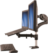 StarTech Monitor Arm with Laptop Stand