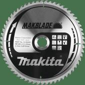 Makita Zaagblad Hout 260x30x2,3mm 80T
