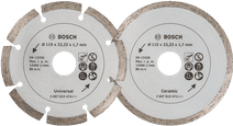 Bosch Diamond disc 115 mm 2 pieces