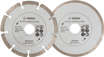 Bosch Diamond disc 125 mm 2 pieces