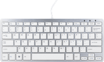 R-Go-Tools Ergo Compact Keyboard QWERTY (US) White