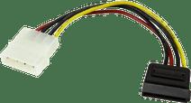 StarTech Molex naar SATA Voedingskabel 0,15m