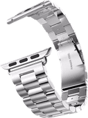 Just in Case Apple Watch 42/44mm Rvs Bandje Zilver