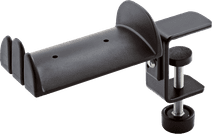 K & M 16090 Headphone Stand Black