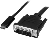 StarTech USB-C to DVI adapter cable 2 meters