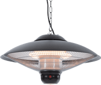 Sunred Sirius Black Hanging - LED light + remote