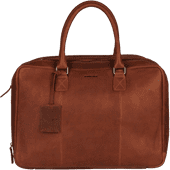Burkely Antique Avery Worker 15 inches Cognac