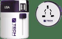 Travel Blue Twist & Slide Adapter Dual USB - Europe