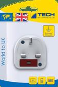 Travel Blue World Adapter - UK