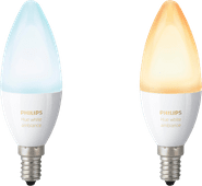 Philips Hue White Ambiance E14 Duo Pack