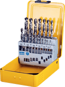 DeWalt 19-piece metal core set HSS-G