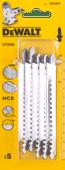 DeWalt Jigsaw blade set T301BCP (5x)