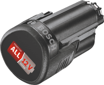 Bosch 12 volt Li-Ion accu 2,5 Ah
