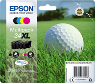 Epson 34XL Cartridges Combo Pack