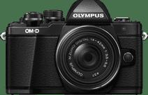 Olympus OM-D E-M10 Mark II Zwart + 14-42mm IIR Zwart