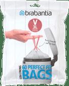 Brabantia Garbage bags Code V - 3 Liter (60 pieces)