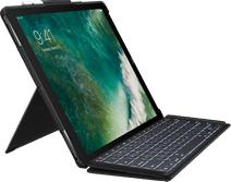 """Logitech iPad Pro 12,9"""" (2017) Slim Combo Toetsenbord Hoes QWERTY"""