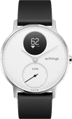 Withings Steel HR Silver / White 36mm