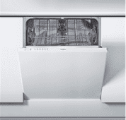 Whirlpool WIE 2B16 / Built-in / Fully integrated / Niche height 82-90cm