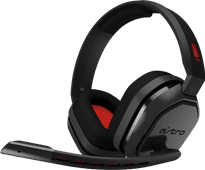 Astro A10 Gaming Headset for PC, PS5, PS4, Xbox Series X/S, Xbox One - Black/Red