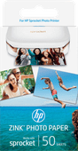 HP ZINK Photo Paper for Sprocket 50 sheets