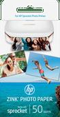 HP ZINK Fotopapier voor Sprocket 50 vel