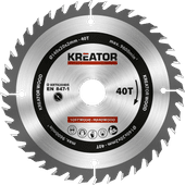 Kreator Saw Blade for Wood 140x20x2mm 40T