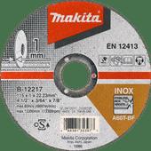 Makita B-12239 Grinding disc Steel 125 mm