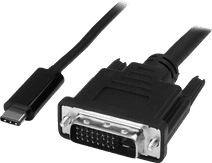 StarTech USB-C to DVI adapter cable 1 meter