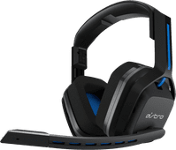 Astro A20 Wireless Gaming headset for PS5, PS4 - Black/Blue
