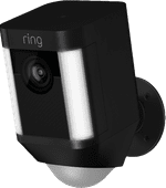 Ring Spotlight Cam Battery Black