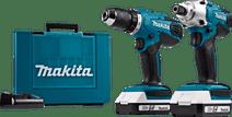 Makita DK18041 Combi set