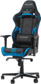 DXRacer RACING PRO Gaming Chair Zwart/Blauw