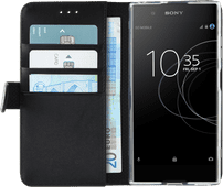Azuri Wallet Magnetic Sony Xperia XA1 Plus Book Case Black