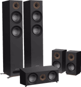 Jamo S 807 HCS Surround Set Zwart
