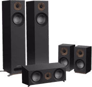 Jamo S 805 HCS Surround Set Zwart