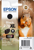 Epson 378XL Cartridge Zwart