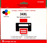 Pixeljet 34XL 4-color pack for Epson (C13T34764010)