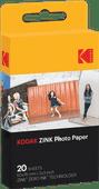 Kodak Printomatic Zink fotopapier (20 stuks)