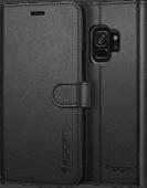 Spigen Wallet S Samsung Galaxy S9 Book Case Black