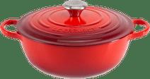 Le Creuset Marmite Dutch Oven 32 cm Cherry Red