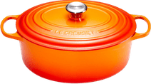 Le Creuset Ovale Dutch Oven 29cm Flame Orange