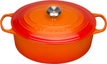 Le Creuset Oval Casserole 31 cm Orange-red