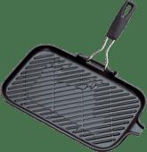 Le Creuset Cast Iron Grill 36 cm Matt Black