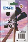 Epson 502XL Cartridge Zwart