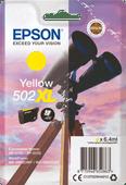 Epson 502XL Cartridge Geel