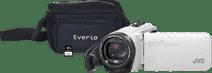 JVC GZ-R495WEU White + memory card + bag