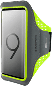 Mobiparts Comfort Fit Sportarmband Samsung Galaxy S9 Plus Groen